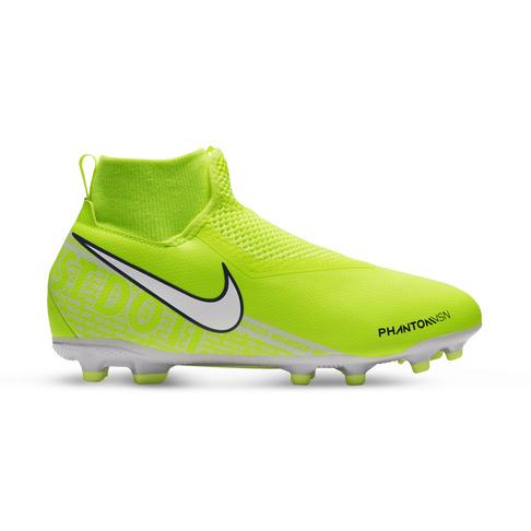 new arrival 4fb1b f5022 Junior Nike Phantom Vision Academy Dynamic FG Volt/White Boots