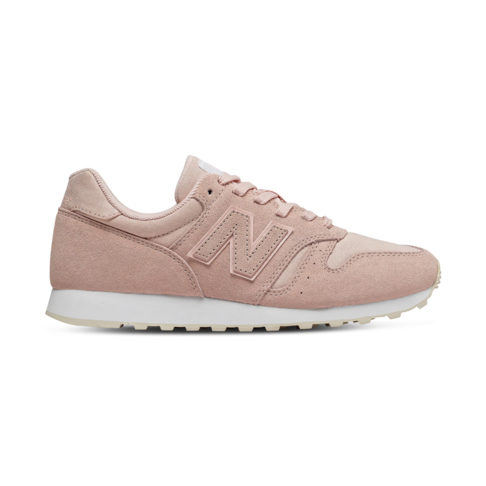new arrival 54eaa 02b5a Women's New Balance 373 Pink/White Shoe