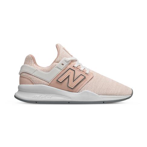 tania wyprzedaż Darmowa dostawa na wyprzedaży Women's New Balance 247 Pink/White Shoe
