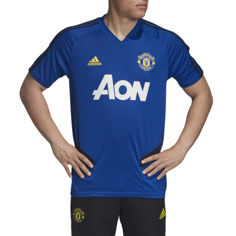 cheap for discount d2fcc fa825 Men's adidas Manchester United Blue Training Jersey