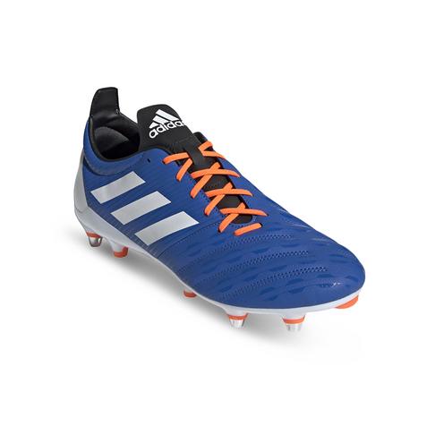5ba13d4bb1e Men's adidas Malice Soft Ground Blue/Orange Boots