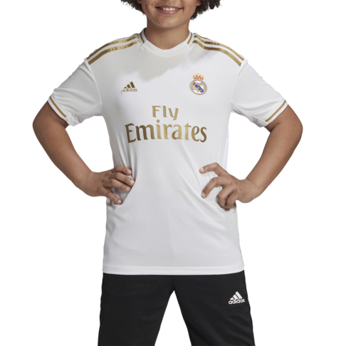 new concept acc40 ad46c Junior adidas Real Madrid Replica 2019/20 Home Jersey