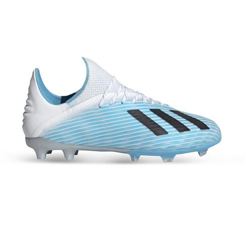 premium selection 82afd 7ea99 Junior adidas X 19.1 FG Turquoise/White/Black Boots