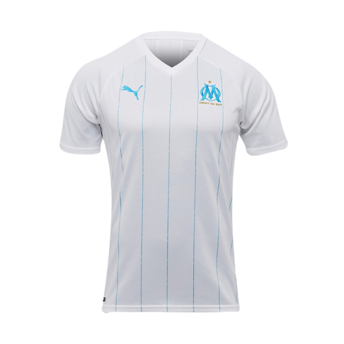 competitive price 2b61b 9ec8c Men's Puma Olympique de Marseille Home Replica Jersey
