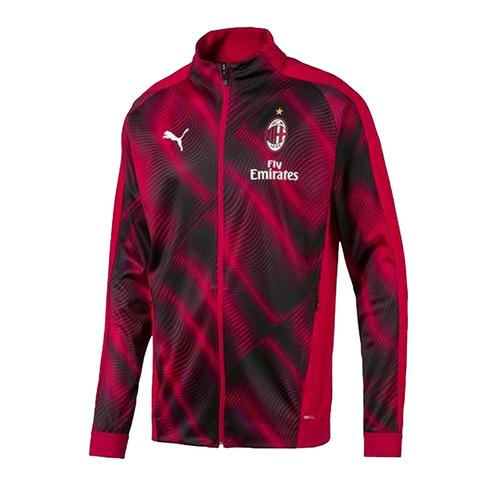 the best attitude bccfe f4035 Men's Puma AC Milan Red 2019/20 Stadium Jacket
