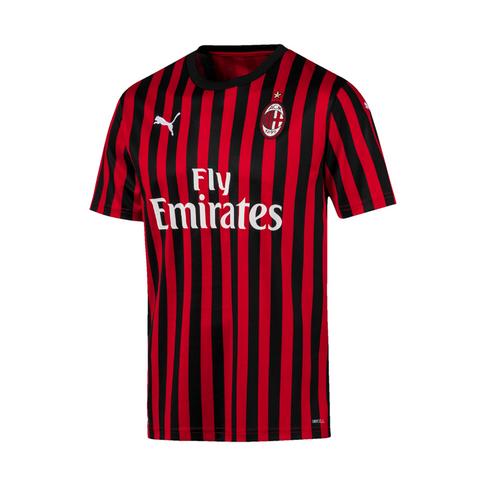new product de3f6 dcb6a Men's Puma AC Milan Home Replica 2019/20 Jersey