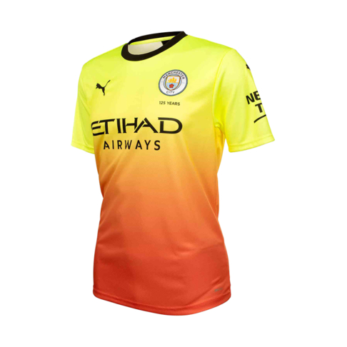 79fc59fd44 Men's Puma Manchester City 2019/20 Third Jersey