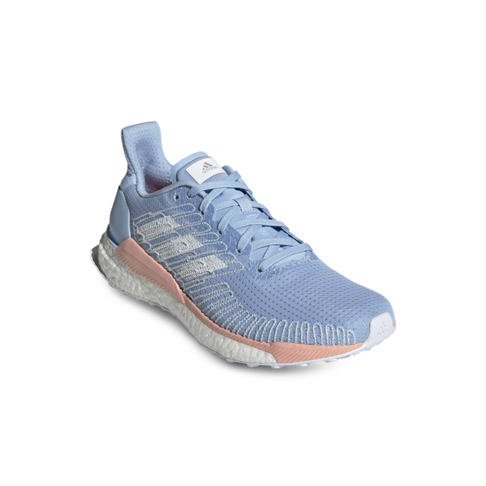 online store af22a e643b Women's adidas Solar Boost 19 Blue/Peach Shoe
