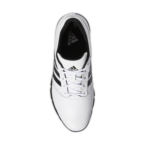 168cc274 Men's adidas Traxion Classic White/Black Golf Shoe