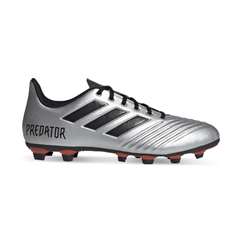info pour 2ad1d 2a528 Men's adidas Predator 19.4 FG Silver/Black/Red Boots