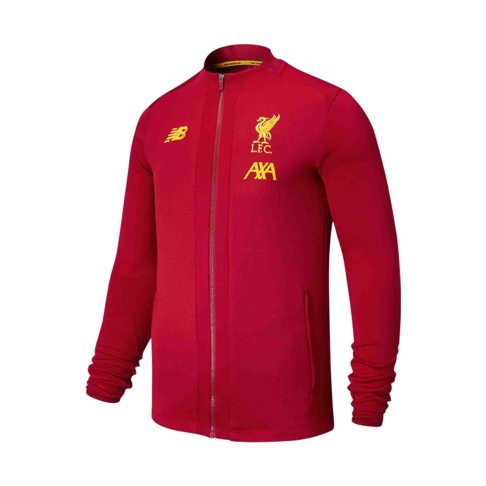 new style a8be8 16f9d Men's New Balance Liverpool Red Game Jacket