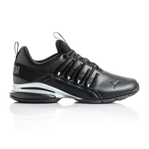 traductor Terminología Asesor  Men's Puma Axelion Block SL Black/Silver Shoe