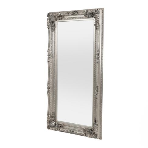 louis mirror silver