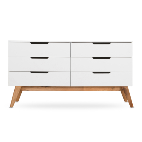 Chest Of Drawers.Loft Chest Of 6 Drawers