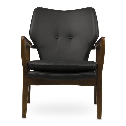Retro Wooden Chair Black