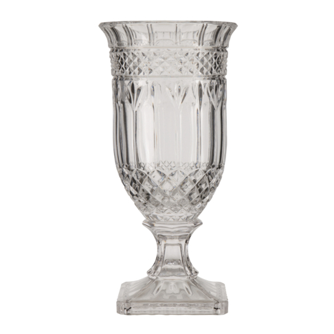 Grace Victorian Vase Footed Glass 325cm