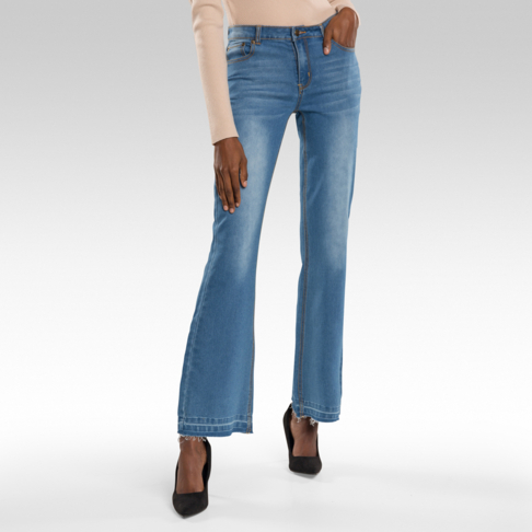 c693e781 Medium Wash Kick-Flare Jeans