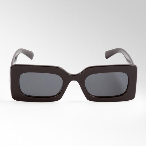 Square Thick Frame Sunglasses