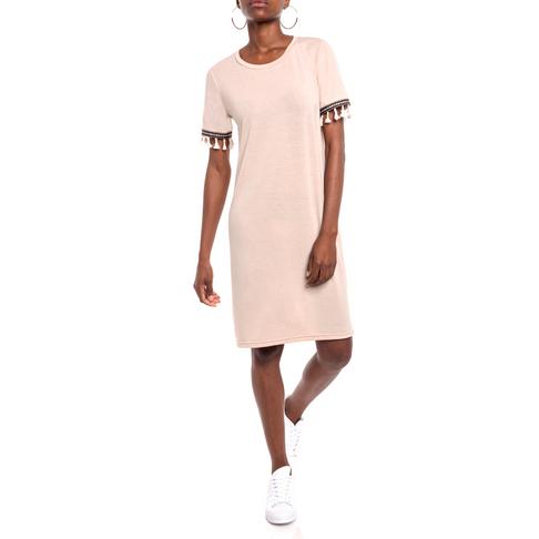 caf5a2a8815 Tassel Detail T-Shirt Dress