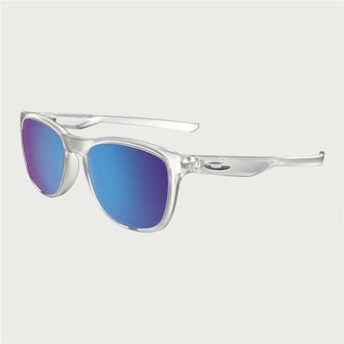 37b91de3ba Oakley Trillbe X Polish Crystal Clear With Sapphire Iridium Polar