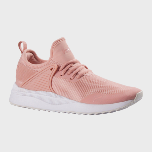 Puma Women S Pacer Next Cage Sneaker Pink White