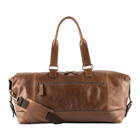 Lbd Leather Bowling Handbag
