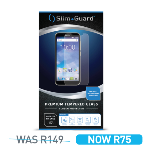 Hisense Infinity E7 Slim Guard Tempered Glass