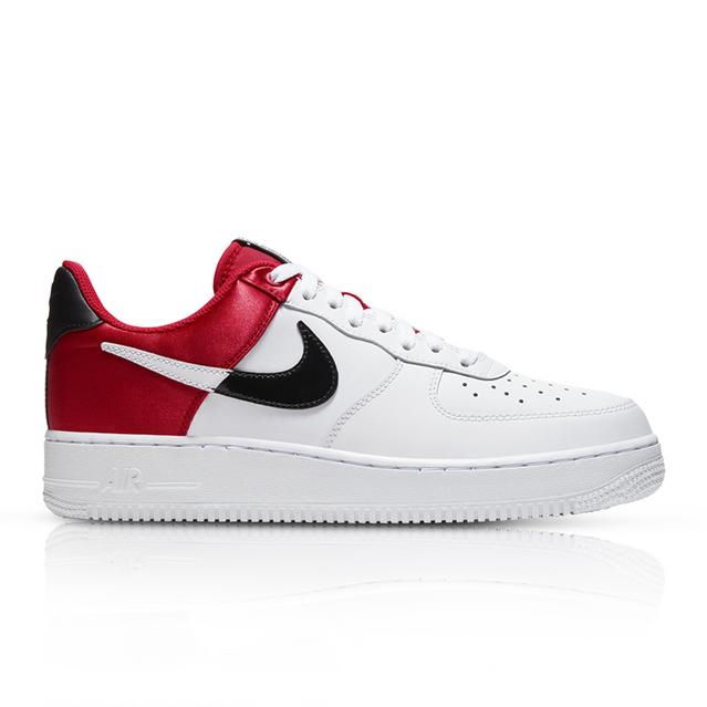 escocés competencia quiero  Nike Men's Air Force 1 LV8 White/Red Sneaker