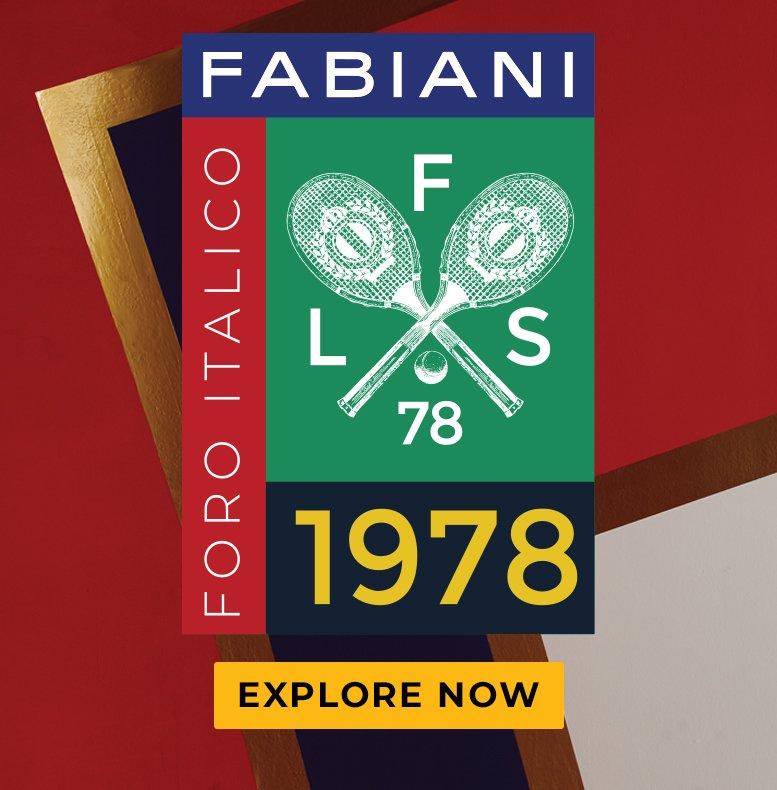 FABIANI. FORO ITALICO. EXPLORE NOW